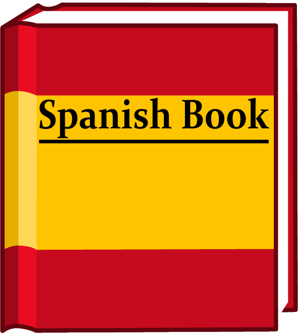 Spanish clipart spanish book Image body png Spanish front