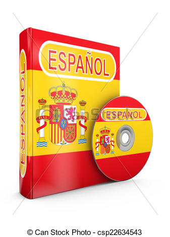 Spanish clipart spanish book > Clipart b Drawing Die