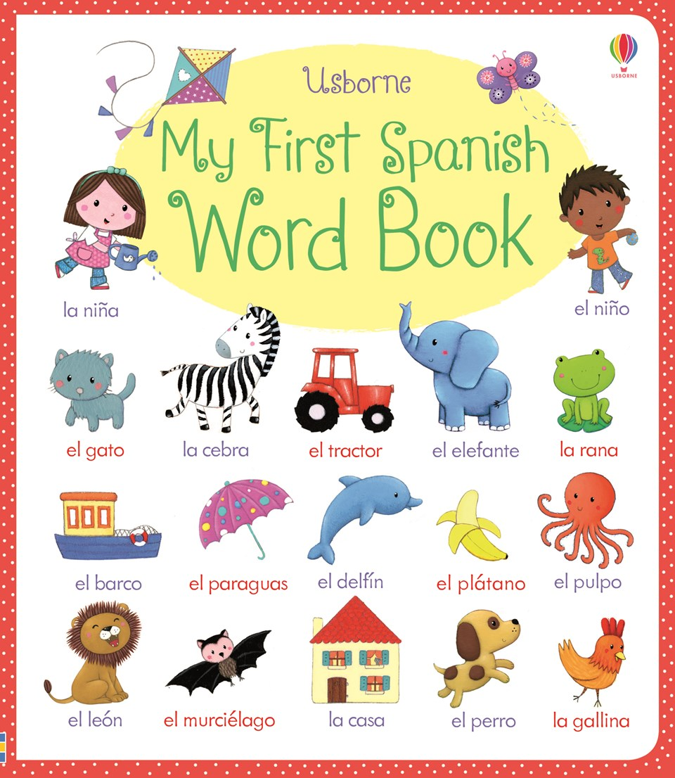 Spanish clipart spanish book My word at first book""