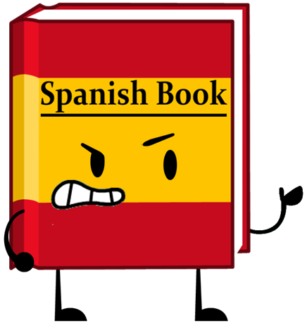 Spanish clipart spanish book Spanish png Shows Book Object