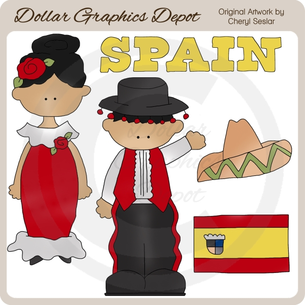 Spanish clipart spanish boy  Kids : Quality Spanish