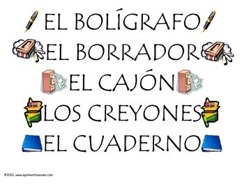 Spanish clipart spanish classroom Picture Pinterest about (La on