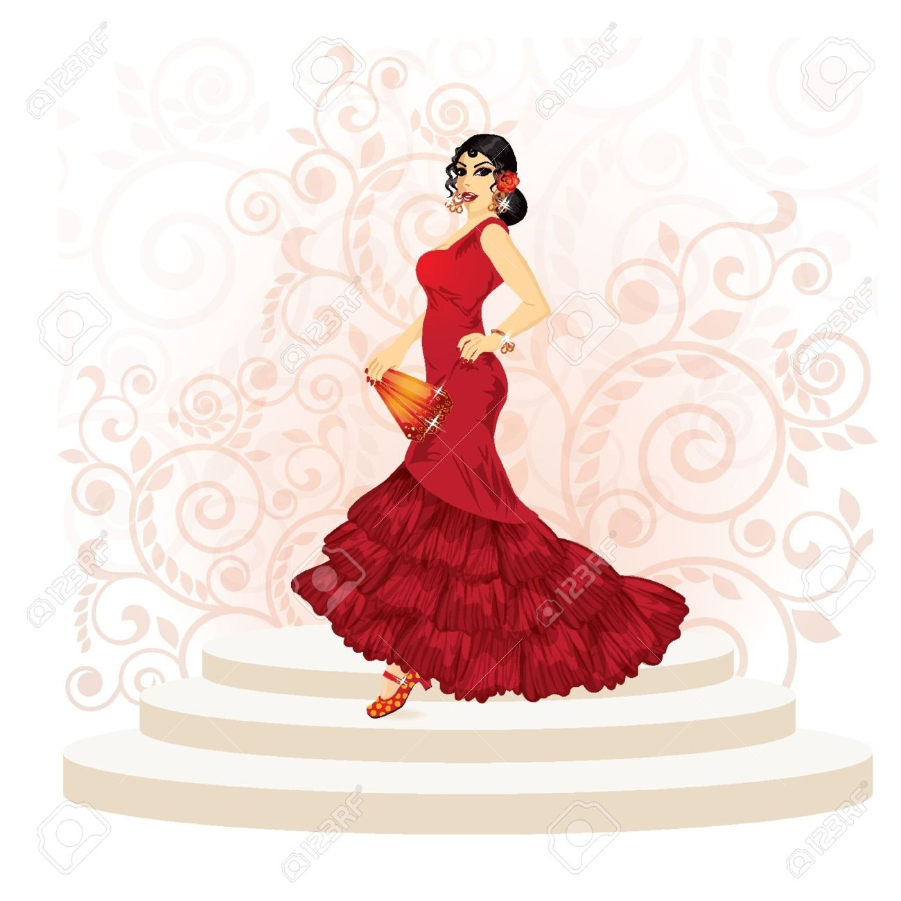 Spanish clipart spanish dance Download Spanish Clipart Art Clip