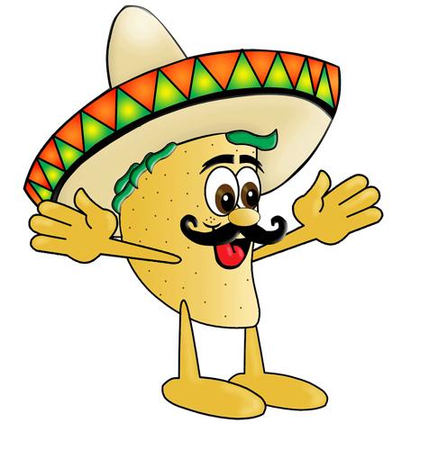 Spanish clipart taco Clipart Free Clipart Taco image