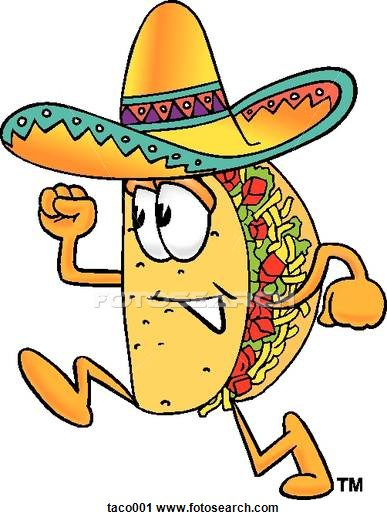 Spanish clipart taco Of Clip Murals  and