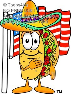 Spanish clipart taco Cartoon Toons4Biz clipart food collection