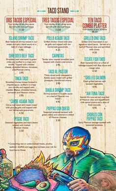 Spanish clipart taco stand Taco the Menu Agaves tacos