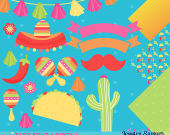 Spanish clipart taco stand And for fiesta clipart DOWNLOAD