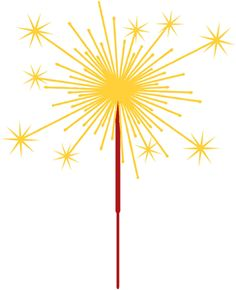 Sparklers clipart fourth july firework Clipart For Sparklers Wedding For