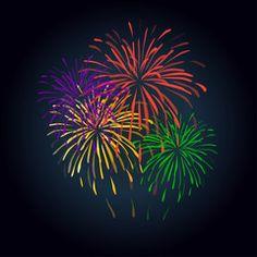 Sparklers clipart winner And illustration Flag Banner Fireworks