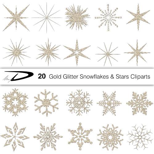 Sparkles clipart winter #9