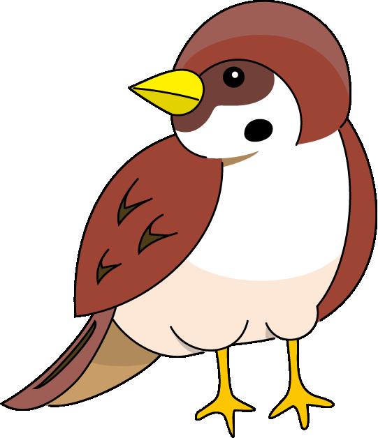 Sparrow clipart Clipart Cartoon Sparrow Cliparts Clipart
