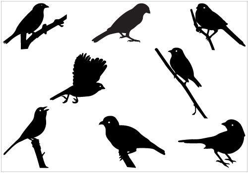 Mockingbird clipart sparrow Silhouette silhouettesclipart silhouettesclipart svg Pinterest