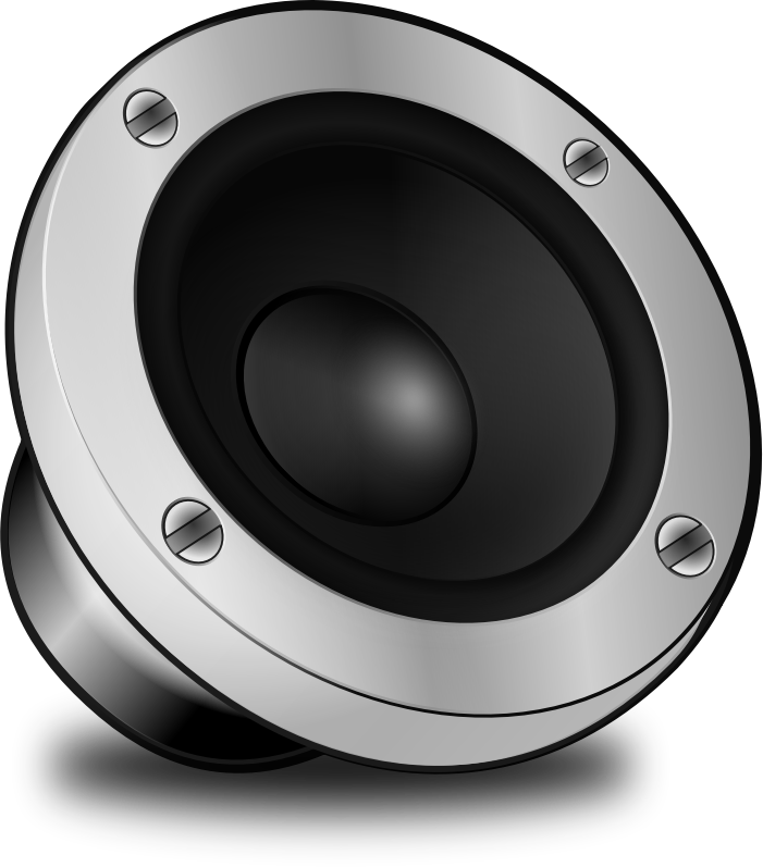 Speakers clipart red Free #25305 Clker art Clip
