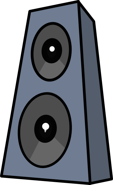 Speakers clipart Download Speakers Clipart On Stands