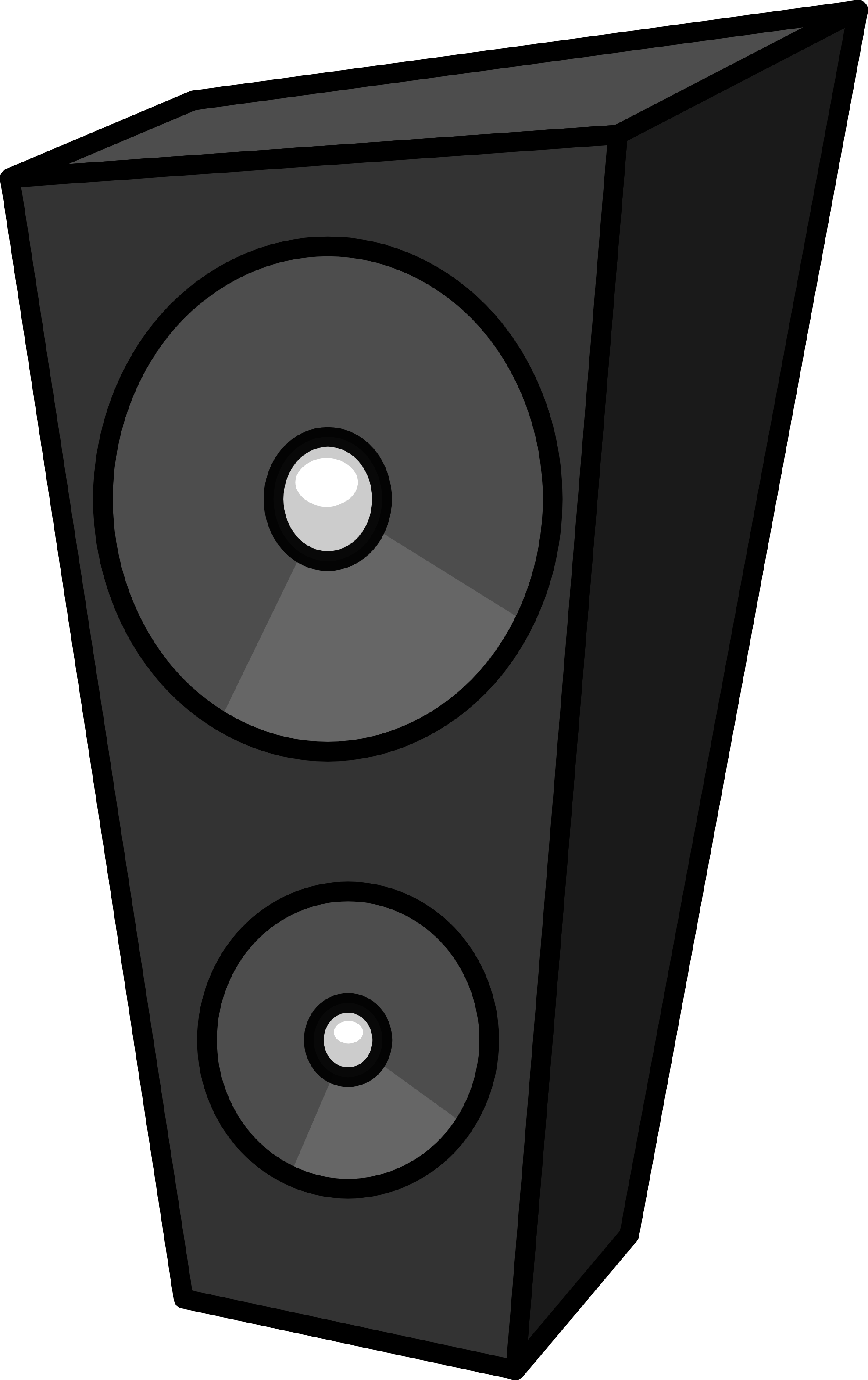 Speakers clipart blue Clip Clipart Speakers Images Free
