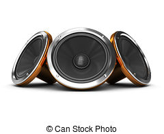 Speakers clipart bass Of Tattoo illustration clipart Subwoofer