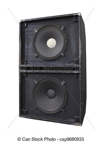 Speakers clipart bass Bass 10 Big  Box