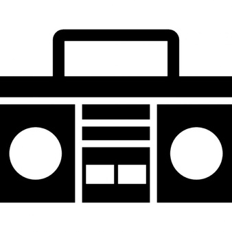 Speakers clipart boombox Handle PSD files with Download