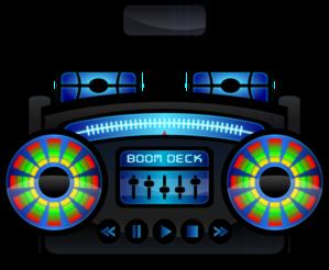 Speakers clipart boombox Vector clip Mini Clip online