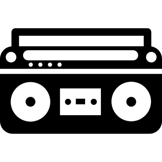 Speakers clipart boombox Download controls Photos Free and