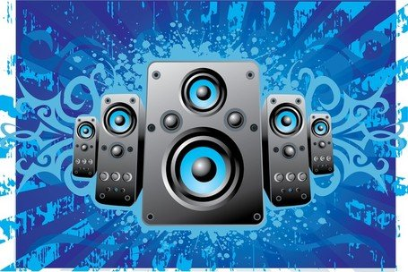 Speakers clipart graphic Speakers me vector graphics Clipart