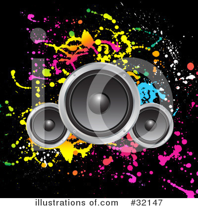 Speakers clipart graphic Clipart Free KJ #32147 KJ