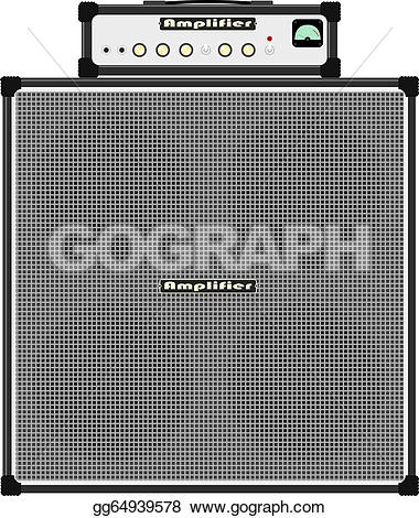 Speakers clipart disco Vector Bass amp Clipart Drawing