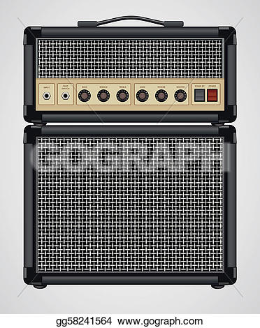 Speakers clipart guitar amplifier GoGraph Amplifier Guitar Free Royalty