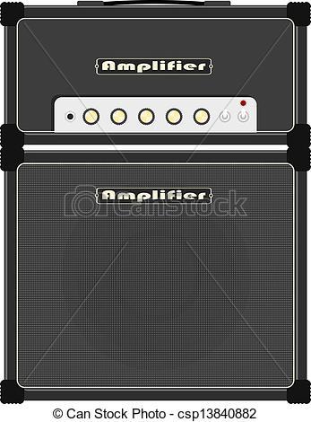 Speakers clipart guitar amplifier Csp13840882 amplifier  amplifier speaker