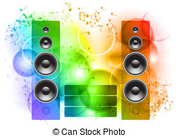 Speakers clipart hearing music Energy Music Search The of