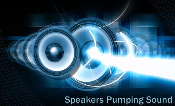 Speakers clipart light sound  Animated For Presentations Speakers