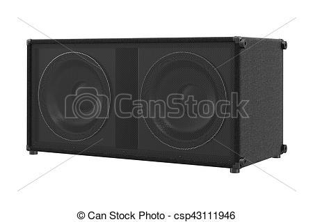 Speakers clipart loud sound Speaker audio csp43111946 of sound