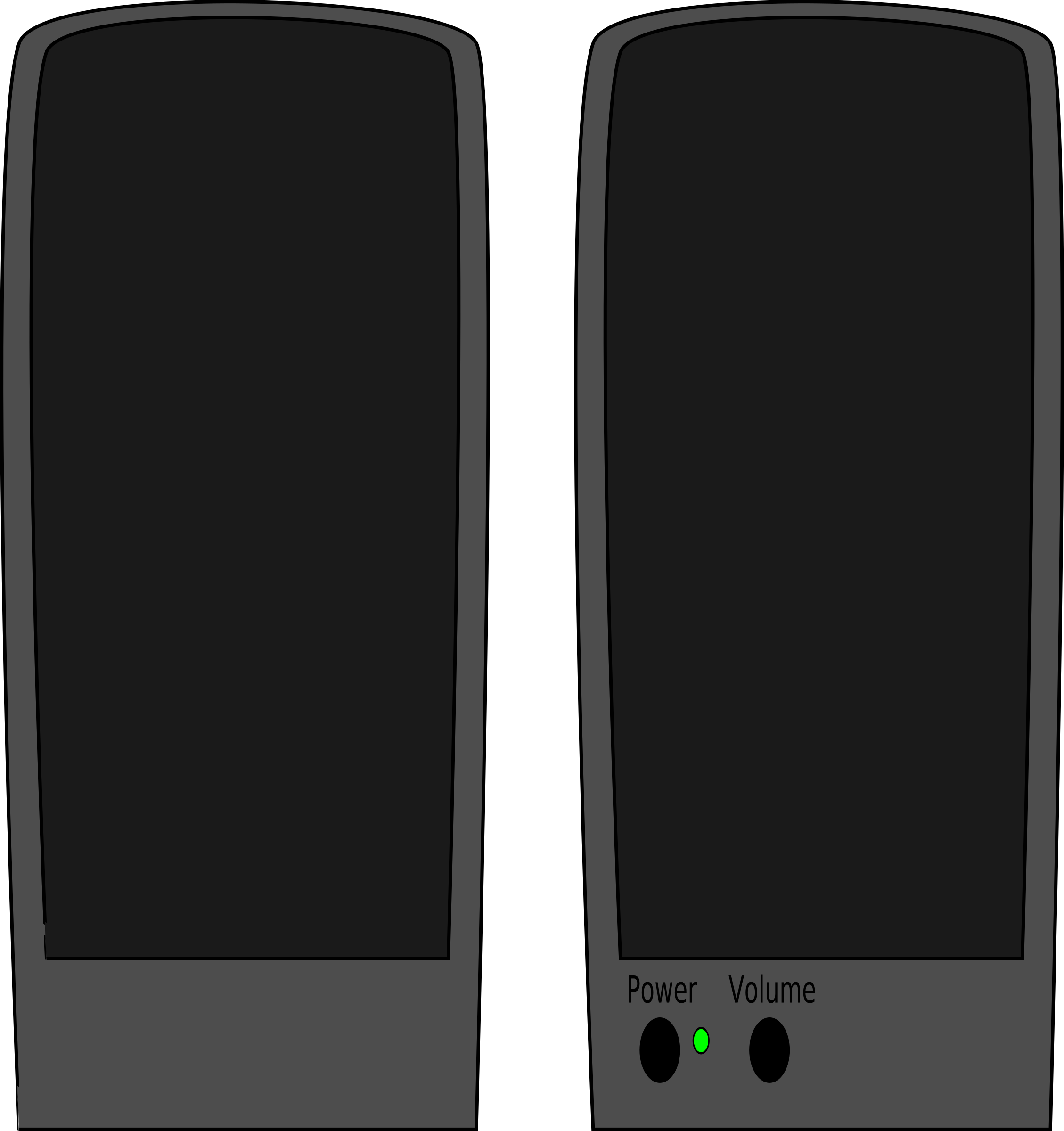 Speakers clipart loudspeaker Speakers speakers loud loud Clipart