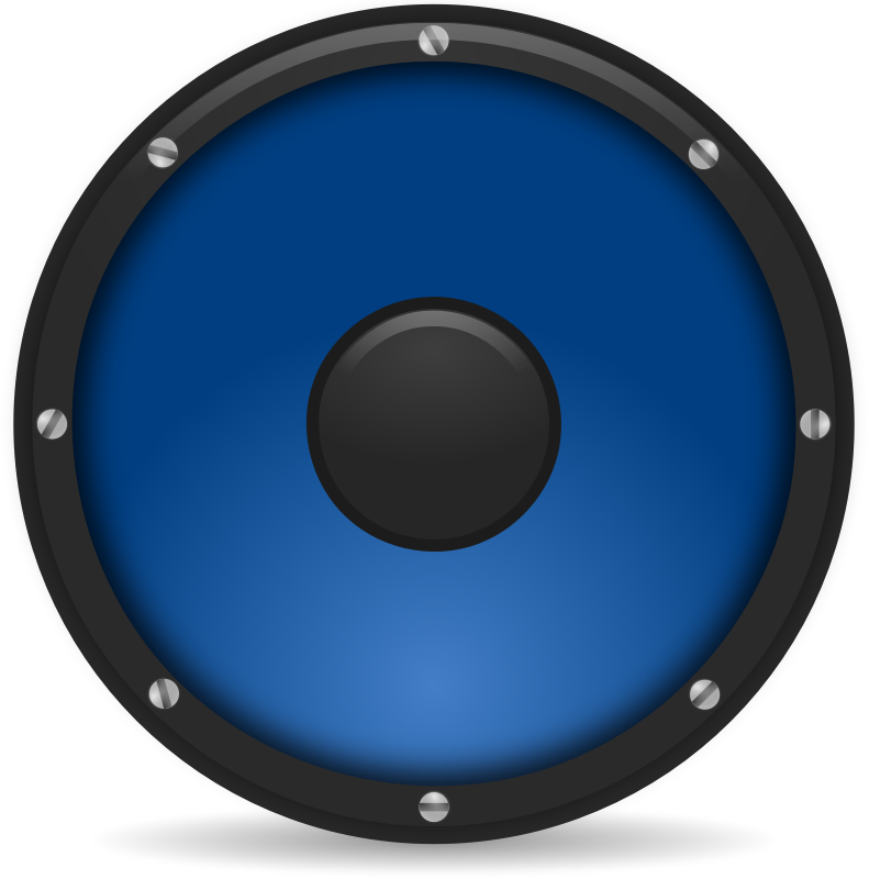 Speakers clipart loudspeaker Domain Public Use & speaker8