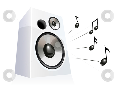 Speakers clipart loudspeaker Speaker Speaker vector stock