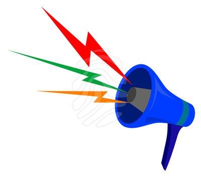 People clipart loudspeaker Images Free Megaphone Clipart Clipart