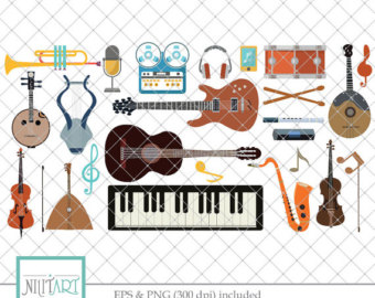 Speakers clipart music studio Clipart Art Digital Clipart Sound