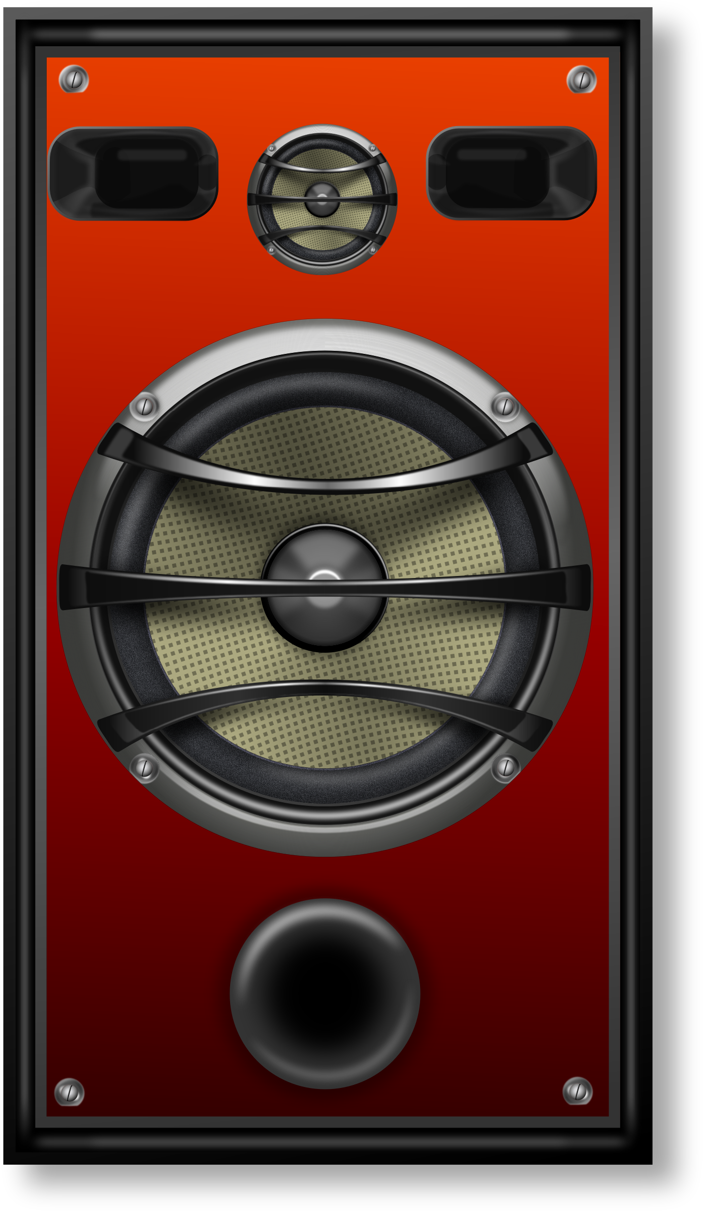 Speakers clipart music studio Grill Grill 1 Clipart Orange