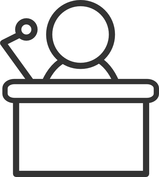 Speakers clipart podium Art Art Clip Clipart Download