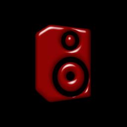 Speakers clipart red Speaker » (Speakers) » Icon
