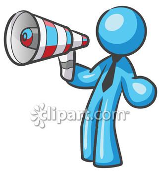People clipart loudspeaker Speaker announcement clipart clipart speaker