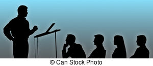 Speakers clipart silhouette And of 351 and Illustrations