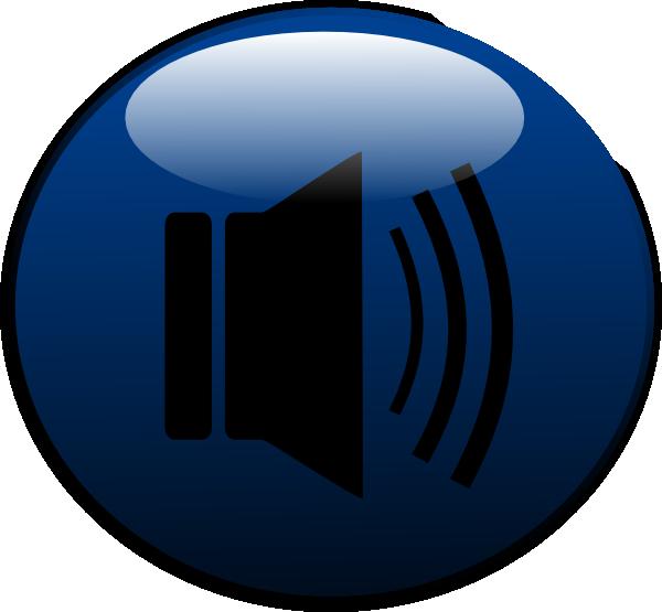 Speakers clipart simbol Download Glossy art as: clip