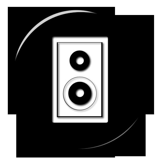 Speakers clipart simbol  » Icon Speaker Etc