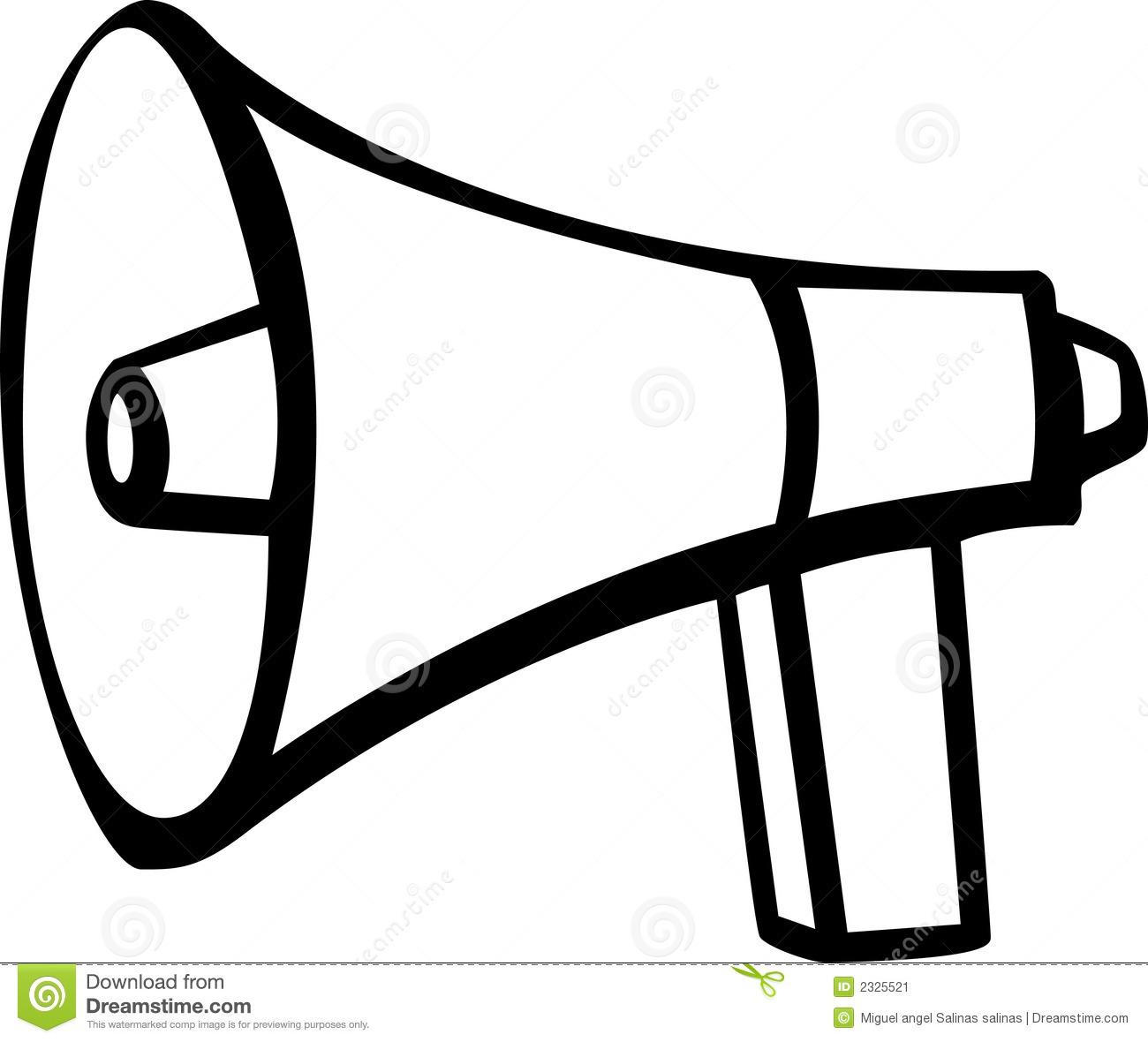 Speakers clipart toa Bull Horn Horn cliparts Clipart
