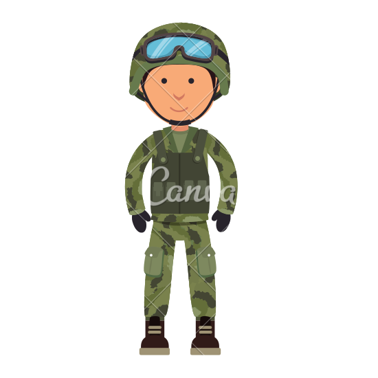 Spear clipart animated By Spear Cartoon Soldier Military