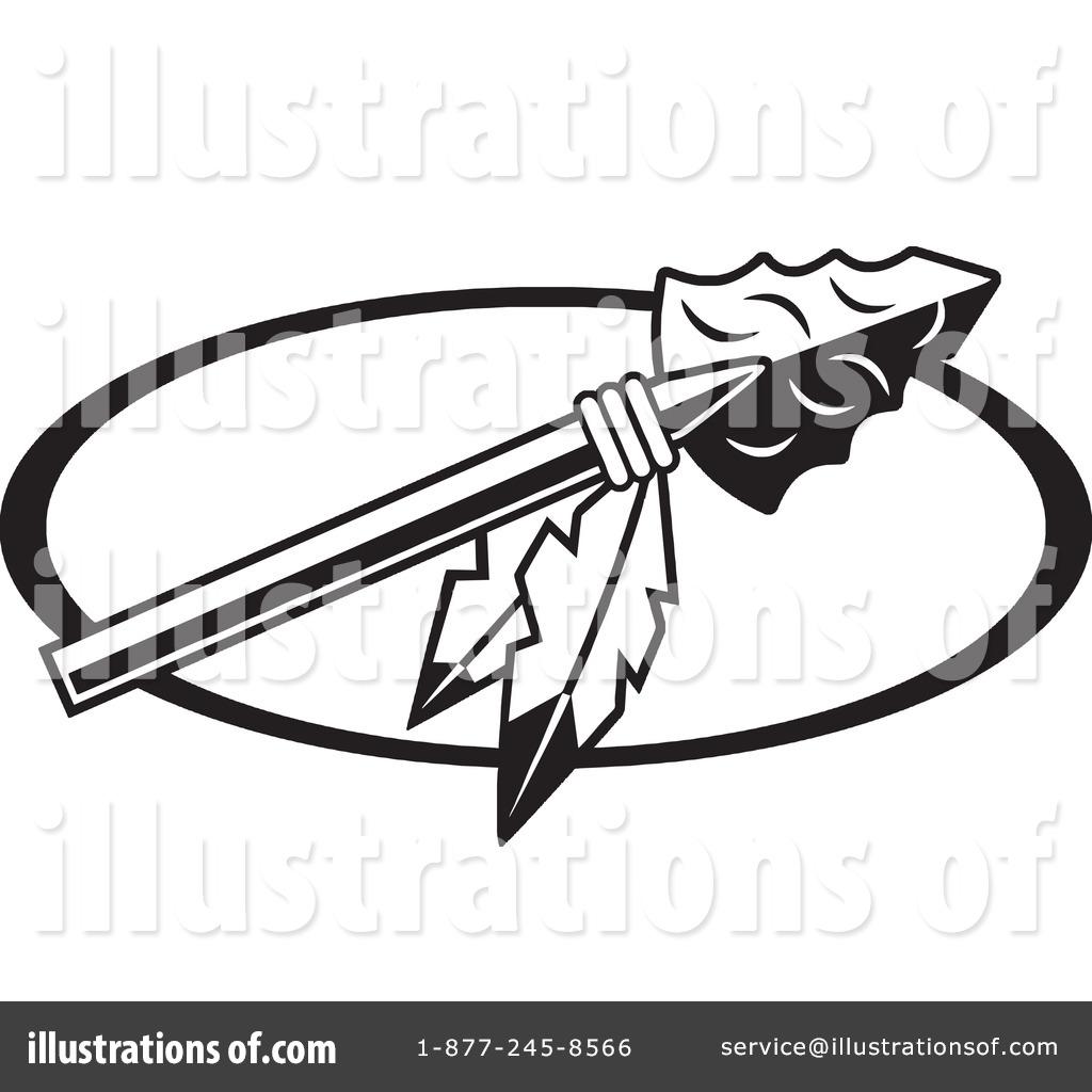 Spear clipart arrowhead #1194983 Illustration (RF) by Spear