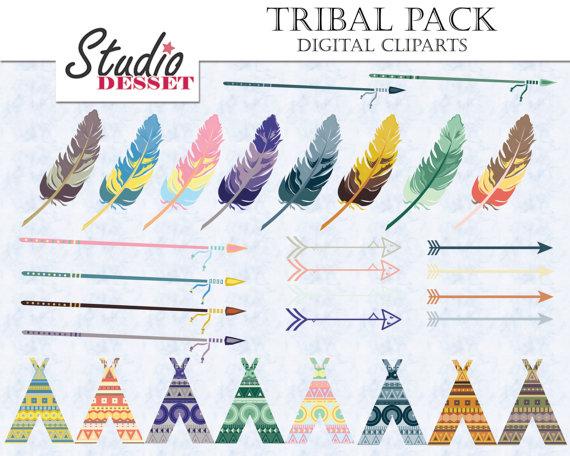 Aztec clipart arrow #8