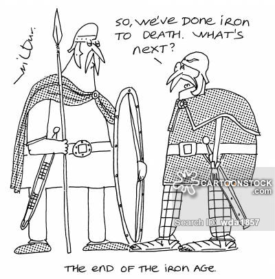 Spear clipart iron age Funny of End Spear Iron